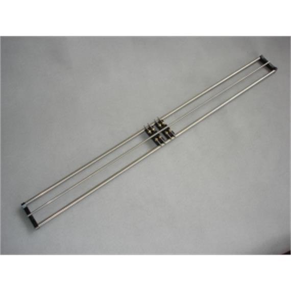 MAZERO 40 02 00 HO-Rollenprüfstand Länge 540 mm, inklusive 3 Rollböcke HO