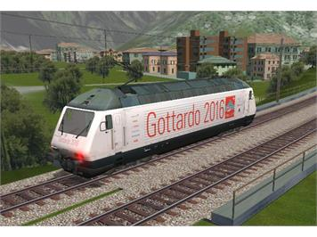 Microsoft 6015 TrainSimulator Gotthard 2016 MSTS