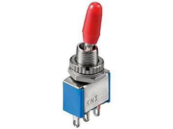 Miniatur-Kippschalter, 1x um, 6A/125V oder 3A/250V