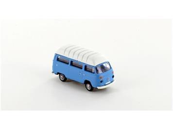 miNis LC3886 VW T2 Transporter Hochdach blau N