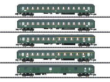 """Minitrix 15219 Schnellzugwagen-Set """"D 360"""""""