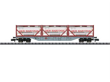 Minitrix 15537 Containerwagen-Set der NL