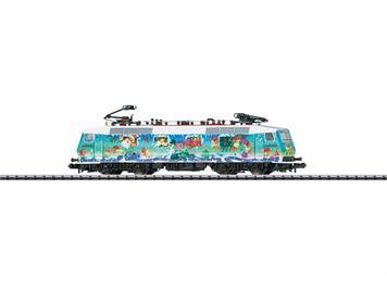 """Minitrix 16025 Elektrolok BR 120 N, Kunstlokomotive """"Weihnachten"""""""