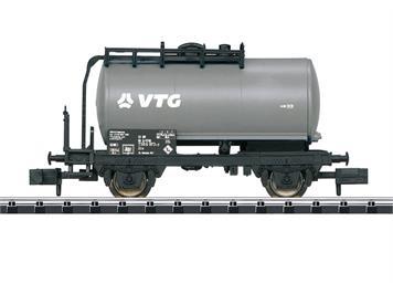"""Minitrix 18091 2-achsiger Kesselwagen """"VTG"""" der DB, N"""