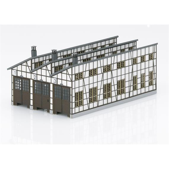 Minitrix 66326 Bausatz Dampflokschuppen Rottweil N