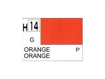 Mr. Hobby (Gunze Sangyo) H-014 orange glanz