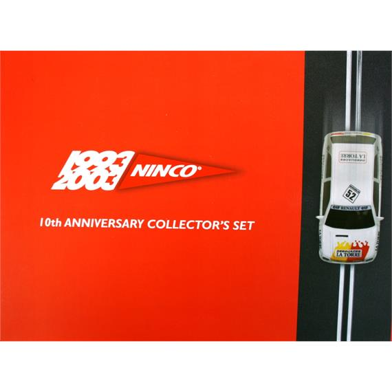 Ninco Collector's Set 10 Jahre Ninco - limitierte Edition