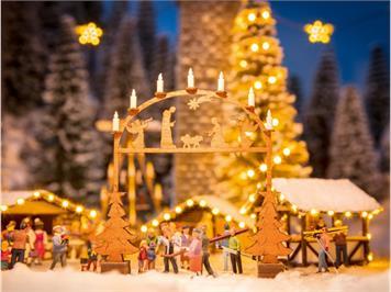 Noch 14391 Laser-Cut Weihnachtsmarkt-Eingangsbogen HO