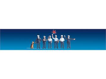Noch 17651 Polizisten Deutschland (blau) N
