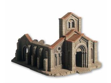 NOCH Kirchenruine HO