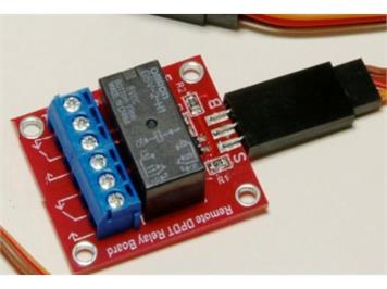 Paan Bahn 45607 Relaisplatine zum DCC/Analog-Servocontroller 45611/45612