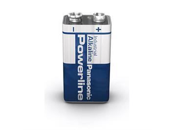Panasonic 111102 Powerline Alkaline Batterie 9V Block