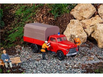Pola 331615 Feuerwehrfahrzeug Opel Blitz mit Pritsche