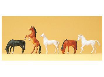 Preiser 10156 Pferde HO