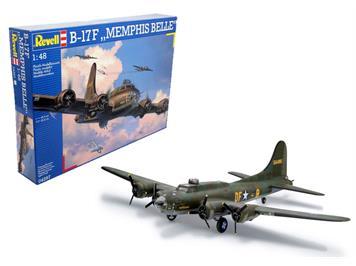 Revell 04297 Boeing B-17F Memphis Belle, 1:48
