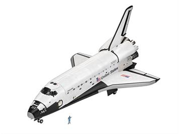Revell 05673 Gift Set Space Shuttle 40th Anniversary, Maßstab: 1:72