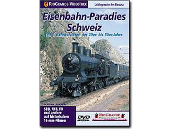Riogrande DVD - Eisenbahn-Paradies Schweiz Teil 1