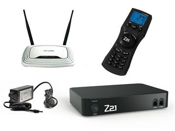 Roco 10834 Z21 Profi Digiset + WLAN multiMaus + Router