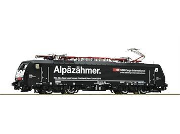 "Roco 79628 Elektrolokomotive BR 189, MRCE ""Alpäzähmer"" AC"