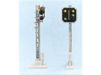 Schneider 2209 SBB Vorsignal 4 LED 55mm HO