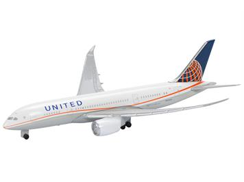 Schuco 403551684 United Airlines, B-787-8 1:600