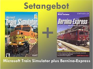 Simtrain Set Microsoft Trainsim. & Bernina-Express