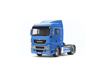 Tamiya 56350 MAN TGX 18.540 4x2XLX (French Blue Edition) - Bausatz, 1:14