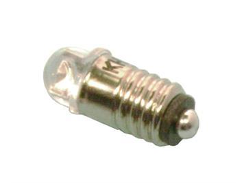Tams 81-40221-02-H LED Halbkugel 5mm warmweiss mit Gewindesockel E5,5 für 16 - 22V (2)
