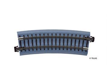 Tillig 83718 BR 22 gebogenes Gleis R353 mm / 15 °