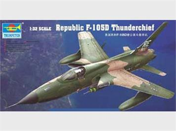 Trumpeter 02201 Republic F-105D Thunderchief 1:32