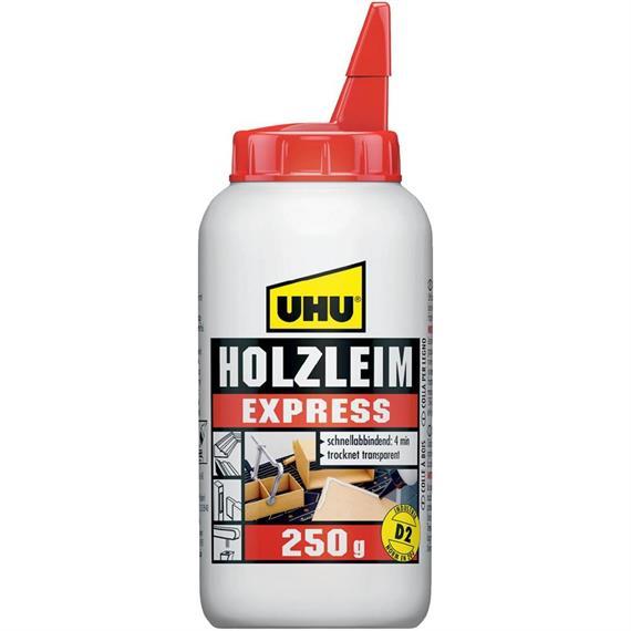 UHU 48585 Holzleim express D2 Flasche 250 gr.