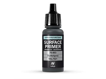 Vallejo 70.603 Model Air 17ml, SURFACE PRIMER DUNKELGRAU, RAL7021