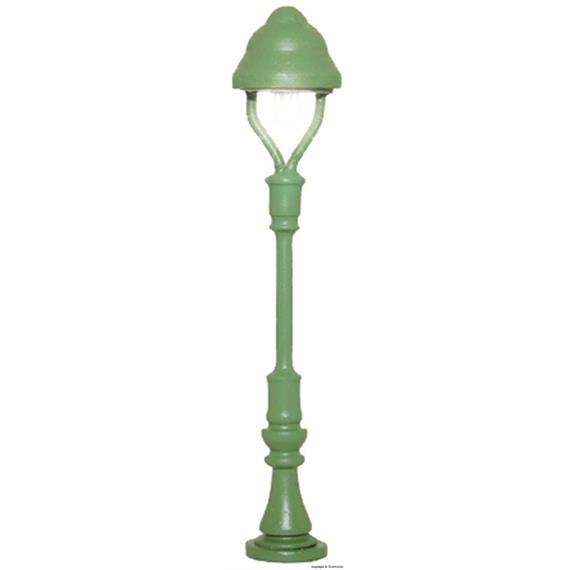 Viessmann 6411 Einheitsgaslaterne grün, Spur N