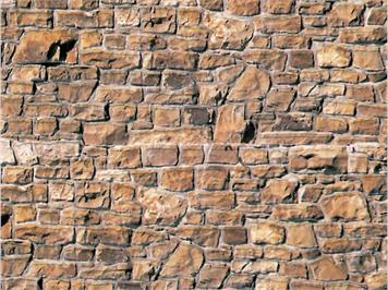 Vollmer 6036 Mauersteinplatten beige HO