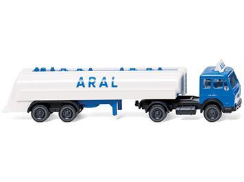 Wiking 098240 Tanksattelzug (MB) ARAL N