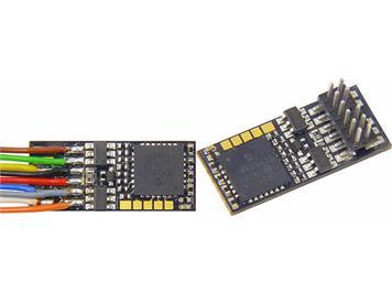 ZIMO MX623 Decoder, 4 Fu-Ausgänge, 7 Anschlussdrähte