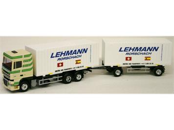 "Zingg (AWM) DAF XF 105 SSC Cargobox-HZ ""Lehmann Transporte"" limitiert auf 300 Stk."